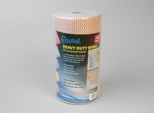 Cleaning Wipes Heavy Duty Brown - Coastal