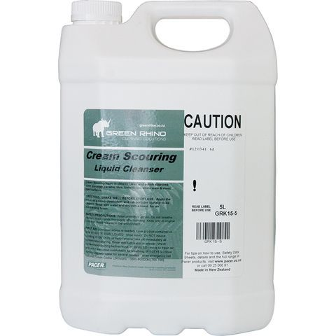 Cream Scouring Cleanser - Green Rhino