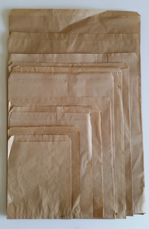 Flat Brown Paper Bags - 185x220 - No.3 - Fortune