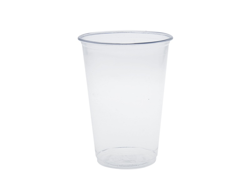 Water cup 7oz PLA - Vegware - Pack & Carton