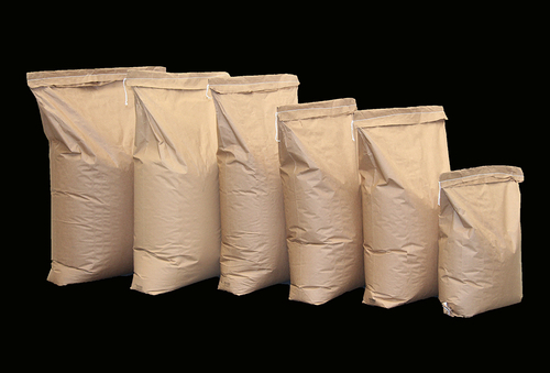 Multi-Wall Pinched Bottom + Gusset Paper Bags 3ply 600x300+100
