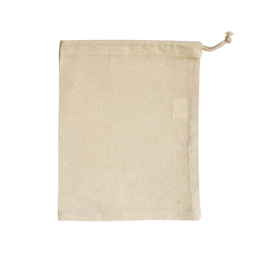 Medium Drawstring Bag Natural - Ecobags