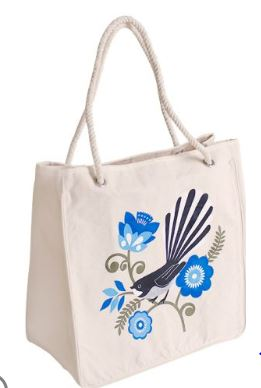 Kiwiana Fantail Shopper Bag - Ecobags