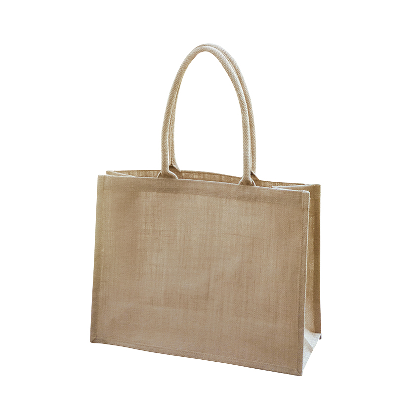 Shopper Bag Laminate Natural - Ecobags