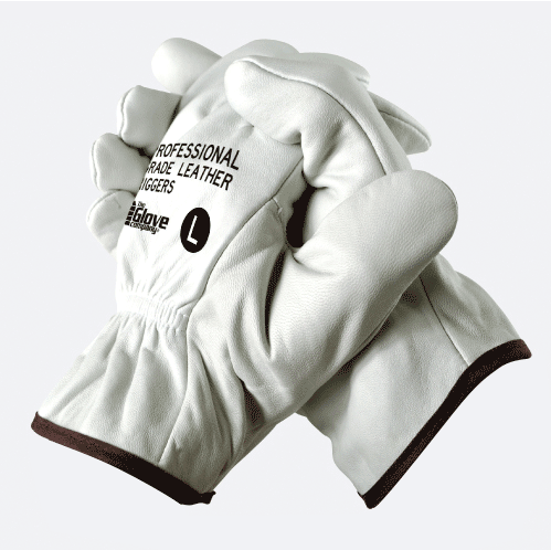 Leather Riggers Gloves Professional Grade