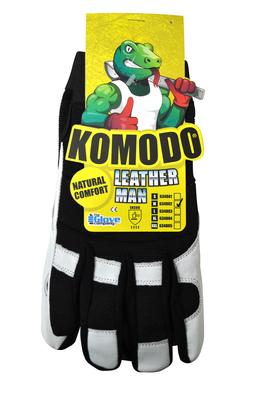 Leather Man Gloves XX-LARGE - Komodo