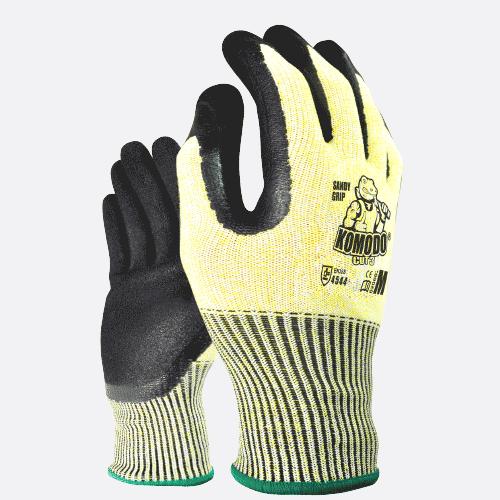 Cut 3 Gloves Pairs XX-LARGE - Komodo