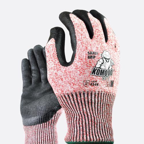 Cut 5 Gloves Pairs - Komodo
