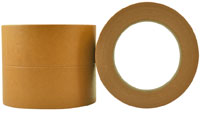 Brown Premium High Temp Crepe Rubber Masking Tape 18mm - Pomona