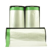 Cloth Pre Taped Interfold Masking Film 2400mm x 17m - Pomona