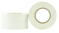 PVC Rubber Electrical Insulation Tape 18mm WHITE - Pomona