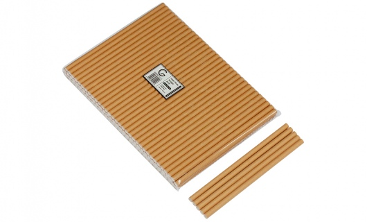 Paper Straws 8mm Kraft - Green Choice