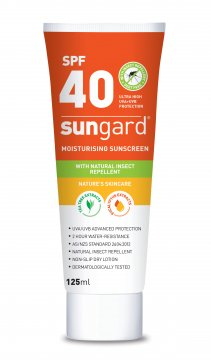 Sunscreen with Natural Insect Repellent 40+ 125ml flip top - Sungard