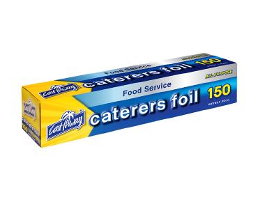 All Purpose Aluminium Caterers Foil 30cm - 150m - Castaway