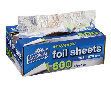 Easy-Pick' Heavy Duty Cut Foil Sheets Medium 203x273mm - Castaway