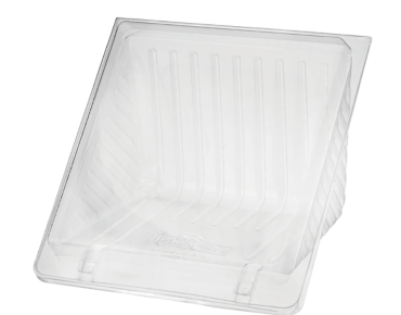 Eco-Smart' Bettaseal Sandwich Wedges - 4 Quarter, Clear - Castaway