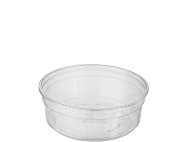 Round Deli Containers 8 oz, Clear - Castaway