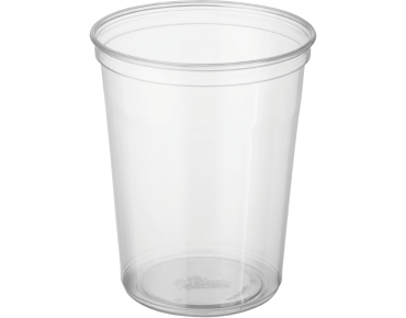 Round Deli Containers 32 oz, Clear - Castaway