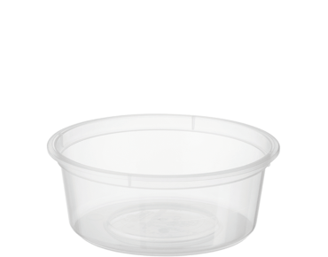 MicroReady' Small Round Takeaway Containers 2 oz Clear - Castaway