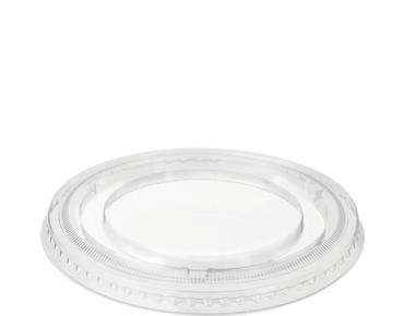 Flat Sundae Cup Lids, No Slot, Large (suit CA-SUN12) - Castaway