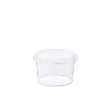 Locksafe' Small Round Tamper Evident Containers, 210 ml - Castaway