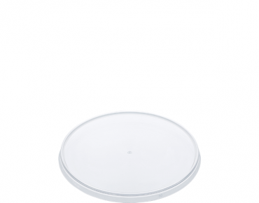 Locksafe' Round Tamper Evident Container Lids (suit 300-1120ml cont), Clear - Castaway
