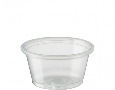 Small Portion Control Cups 22 ml, Clear - Castaway