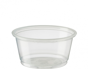 Medium Portion Control Cups 60 ml, Clear - Castaway