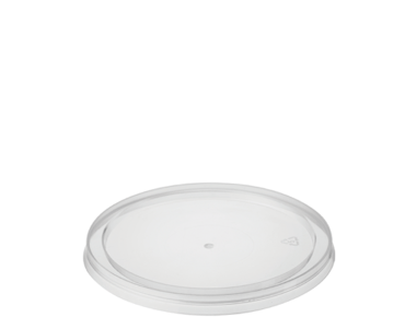 Reveal' Round Container Lids - One Lid Fits All, Clear - Castaway