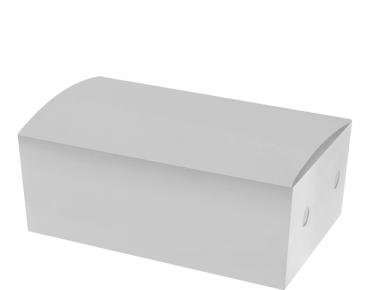 Medium Snack Boxes, Bulk Packed, White - Castaway