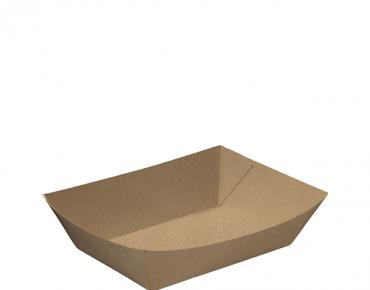 Rediserve' Kraft Paper Food Trays #2 Small, Brown Kraft - Castaway