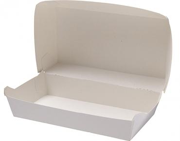 Rediserve' Paper Snack Packs #2, Large Meal, White - Castaway