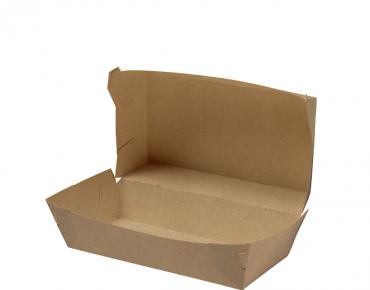Rediserve' Brown Kraft Paper Snack Packs #3 Small Meal, Brown Kraft - Castaway
