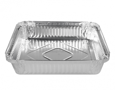 Large Square Catering Containers 1563 ml - Castaway
