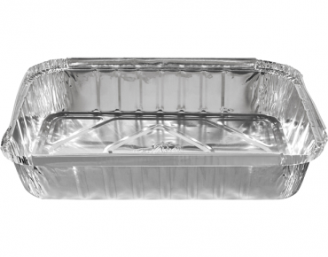 Large Rectangular Catering Containers, Deep 2500 ml - Castaway