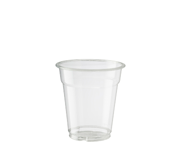 7oz Cold Cup HiKleer' P.E.T, Clear - Castaway