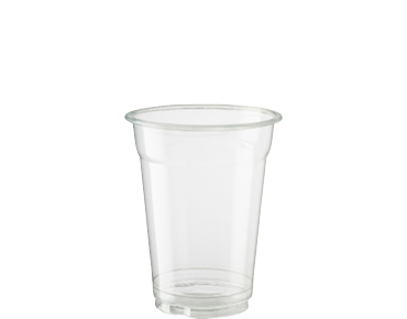 9oz Cold Cup HiKleer' P.E.T, Clear - Castaway