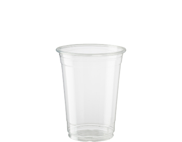 285ml Cold Cup HiKleer' P.E.T, Weights & Measures Approved, Clear