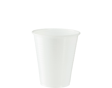 7oz/200ml Eco-Smart' Water Cup, White - Castaway