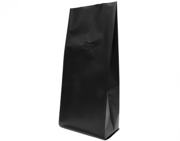 1kg Side Gusset Coffee Bag, Matte Black - Castaway