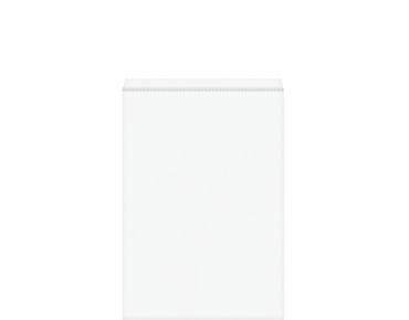 White Paper Bags #7 Flat - Castaway