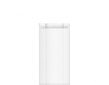 Greaseproof Paper Bags #2 Satchel, White - Castaway