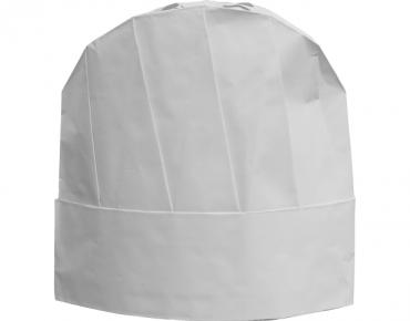 PrimeSource' Disposable Chef's Hat, Size Adjustable, White - Castaway