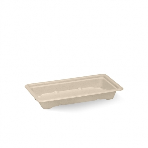 Sushi Trays BioCane Small Natural - BioPak