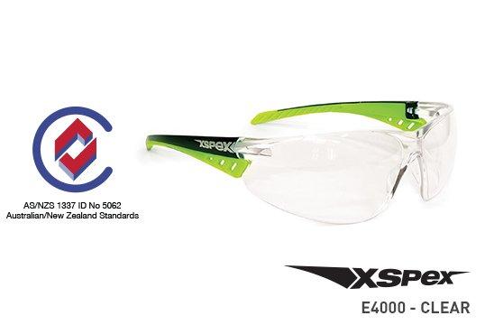 XSPEX' Safety Spec, Clear Lens - Esko