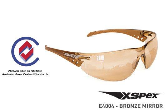 XSPEX' Safety Spec, Bronze Indoor/Outdoor Mirror  - Esko