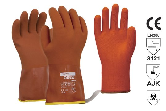 Towa Soft textured PVC winter glove with removable Thermo Liner X-LARGE - Esko