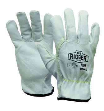The Esko Rigger'  Premium Natural Rigger with Kevlar stitching - Esko