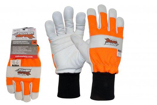 POWERMAXX Ballistic Class 1 Chainsaw Protection Glove, Large - Esko