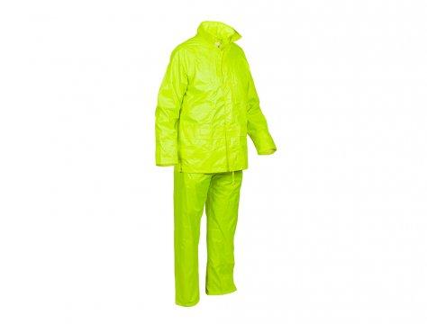 Good2Glow' Rainsuit, Jacket & Pant Set, Neon Yellow MEDIUM - Esko